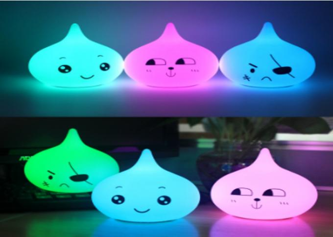 Mother 'S  Assistant Soft Plastic Nursery Baby LED Touch Sensor Night Light For Kids