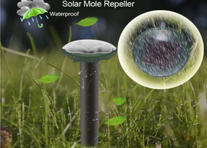 Solar Spike Rat Repellent Solar Energy Small Sonic Sound Wave Pest Control Repeller for Mole Mouse Gopher