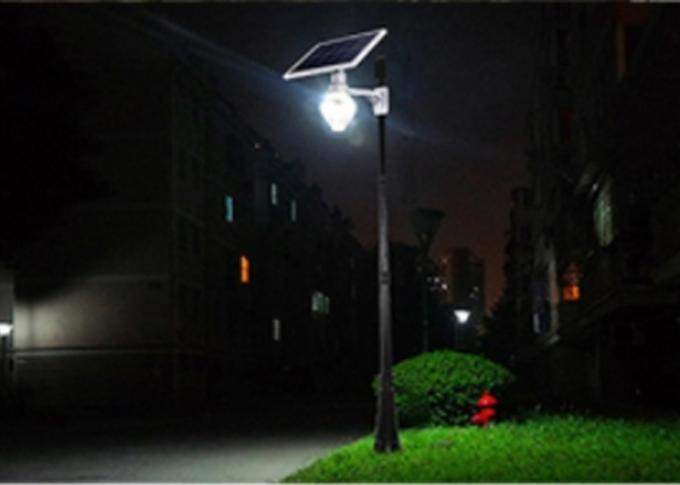 Energy Saving 6 W Solar Area Lights With Lithium Iron Phosphate Battery 3.2V