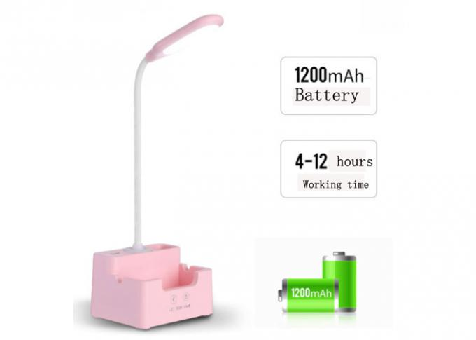 Pink Rechargeable LED Night Light Charging Time 3 - 4 Hours 4200K