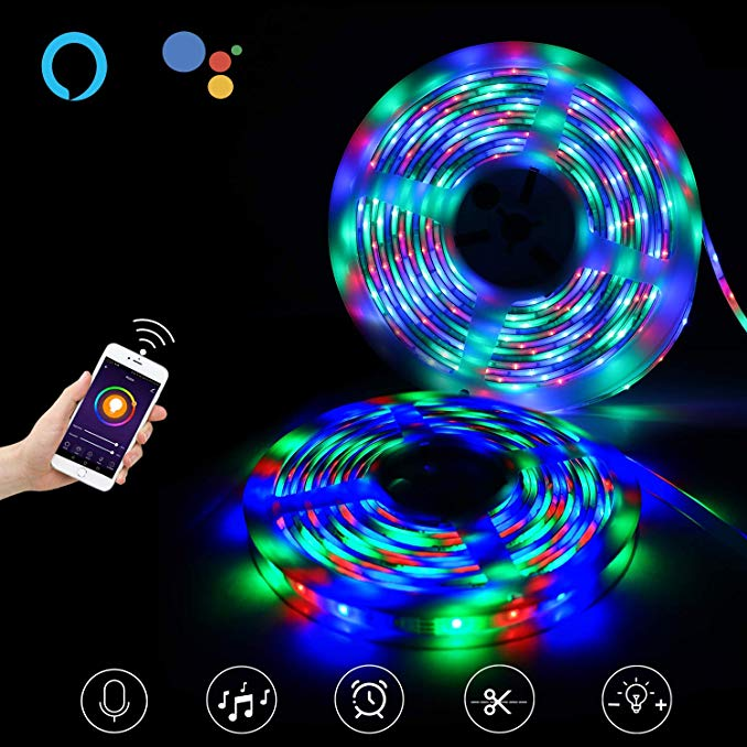 USB 60pcs LED Flexible Strip Lights For Party Decoration , Music Light Strip