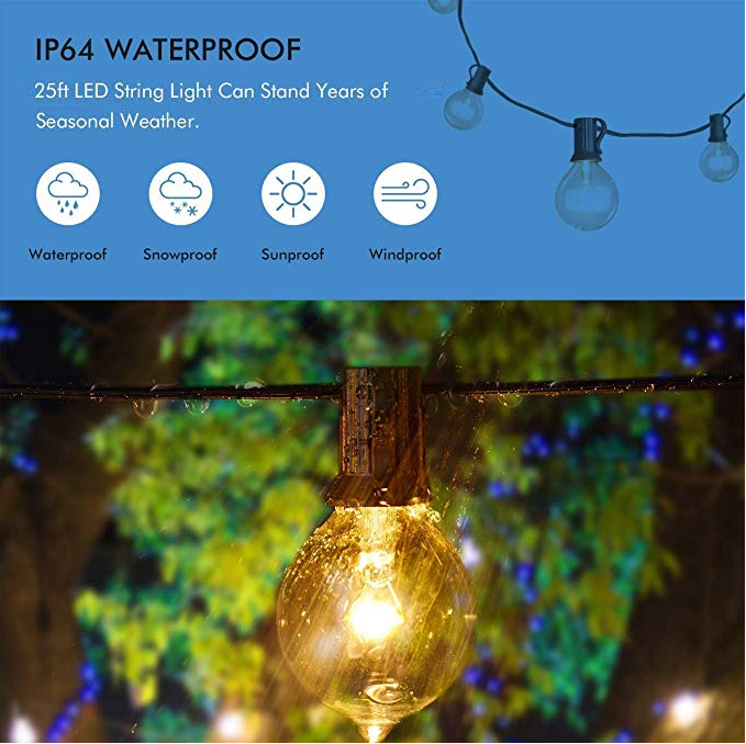 Waterproof Security Decorative Solar Lights For Wedding In Spring And Summer Everyd