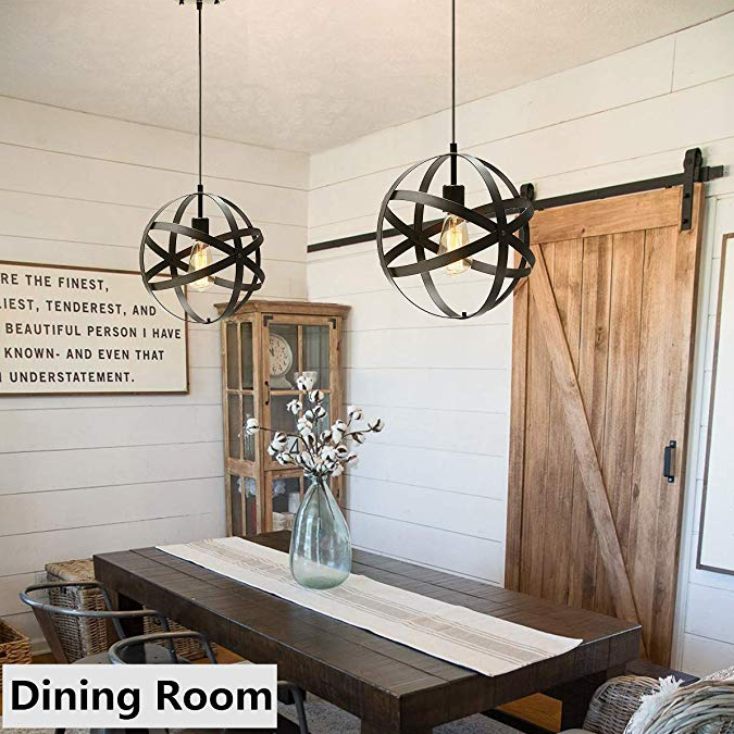 Entryway Foyer Hallway Farmhouse Dining Room Chandelier 40 Watt 50-60Hz