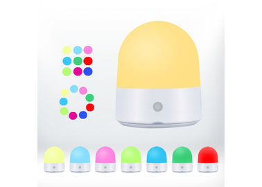 China Baby Room LED Night Light DC5V Rechargable Touch Control Warm White RGB Color supplier