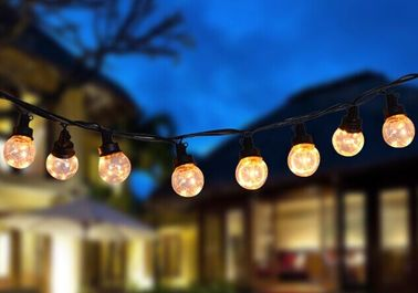 China PVC PS LED String Lights USB 30FT Decorative 25ct G45 Bulbs Energy Saving supplier