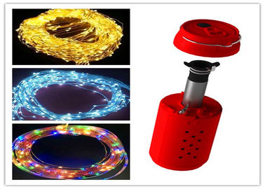 China Chirstmas RGB Salt Water Powered Light Decorative 10-12Hrs For Outside Party supplier