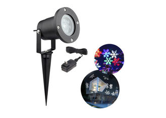 China RGB Decorative Laser Christmas Lights , Rotation Outdoor Laser Light Projector supplier