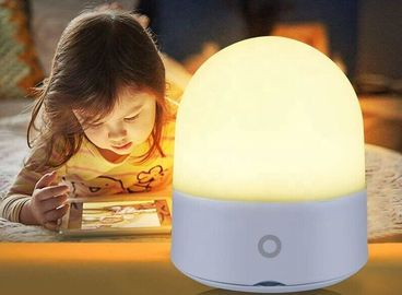 China PP Portable 9 Color Room Baby Night Light , DC5V Dimmer Night Light Lamp supplier