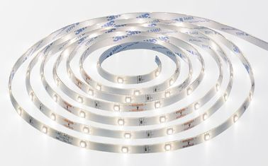 China 90ct 3M 6W LED Flexible Strip Lights Natural White With Human Body Infrared Sensor supplier