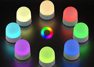 China Colorful 3 Watt LED Night Light RGB Touch Sensor Control IP20 With One USB Cable supplier