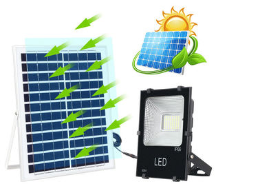 China Outdoor LED Solar Street Security Flood Light 25W 40W IP67 6000K 2 Years Warranty supplier