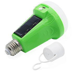 China 12W 18W Portable LED Flashlight Solar Powered Light Emergency Bulb For Camping, Breakout, Emergency use supplier