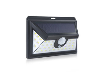 China Three Side Face Solar Wall Lights With Motion Sensor / Solar Powered Outside Lights supplier