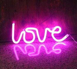 China IP64 39.4 Inch LED Flexible Strip Lights 3Watt / Love LED Neon Sign supplier