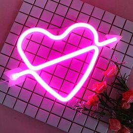 China Feeling Love LED Decorative Lights Neon Bar Signs For Valentine 'S Day / Birthday supplier