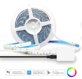 China RGBW LED Flexible Strip Lights 1400 Lumen Remote Control Kit 16.4ft SMD5050 supplier