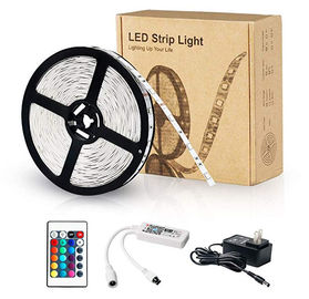 China Rohs CE RGB Strip Light Compatible With Alexa / Google Assistant RGB 5050 16.4FT supplier