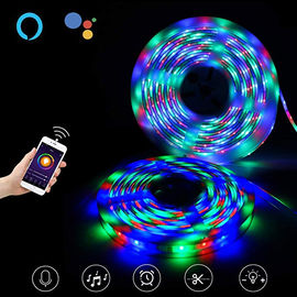 China USB 60pcs LED Flexible Strip Lights For Party Decoration , Music Light Strip supplier