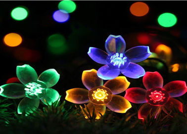 China Solar Outdoor Flower Decorative Solar Lights ABS + PS + Stainless Steel Material supplier