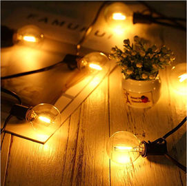 China Connectable Decorative Solar Lights 20pcs Globe G40 ECO LED Bulbs For Party Christmas supplier