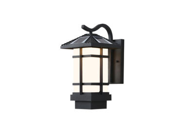 China Apartment 6 W Solar Powered Outdoor Wall Lights Charging Time 6 - 8 Hours supplier