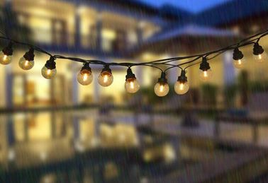 Anti Fog Industrial Outdoor String Lights , Warm White PVC PS LED Strip Lights