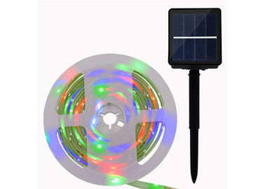 Solar LED Flexible Strip Lights SMD 5050 RGB Colors Changing 3.7V 1800mAH