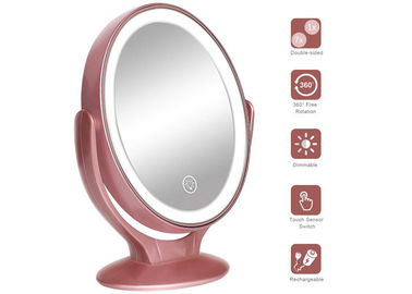 1x / 7x Magnification Double Sided LED Cosmetic Makeup Mirror Build - In Lithium Batterry Rechargable
